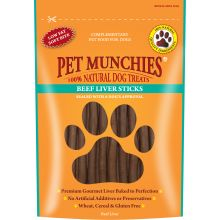 Pet Munchies 100% Natural Beef Liver Sticks, 90G