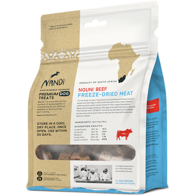 Nandi Nguni Beef Freeze-Dried Meat