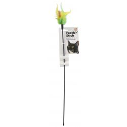 Ruff 'N' Tumble Feath 'R' Stick Cat Dangler