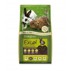 Burgess Excel Adult Rabbit Nuggets with Mint, 10KG
