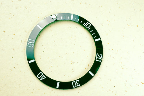 british racing green hulk sub rolex skx007 ceramic bezel insert