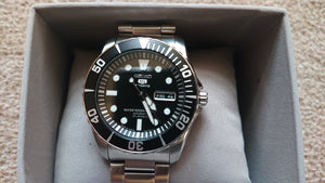 Seiko SNZF17K Men's Analogue Automatic Watch