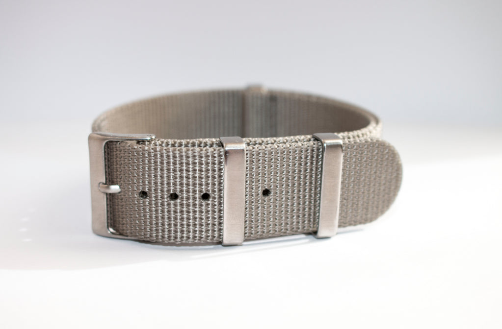 grey 22mm nato watch strap seiko skx007 gray