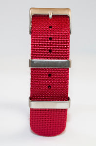 dagaz nato ii 2 11 watch strap all red, best hardware dlw