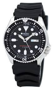seiko skx007j1 resin strap standard original unmodified