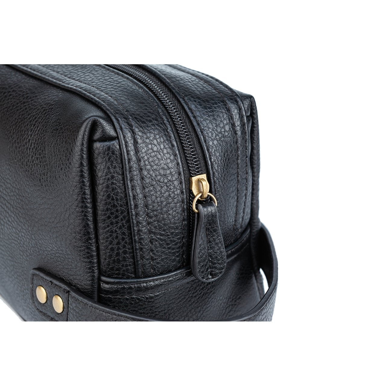 Dopp Kit - Black Fletcher Vegan Leather Dopp Kit