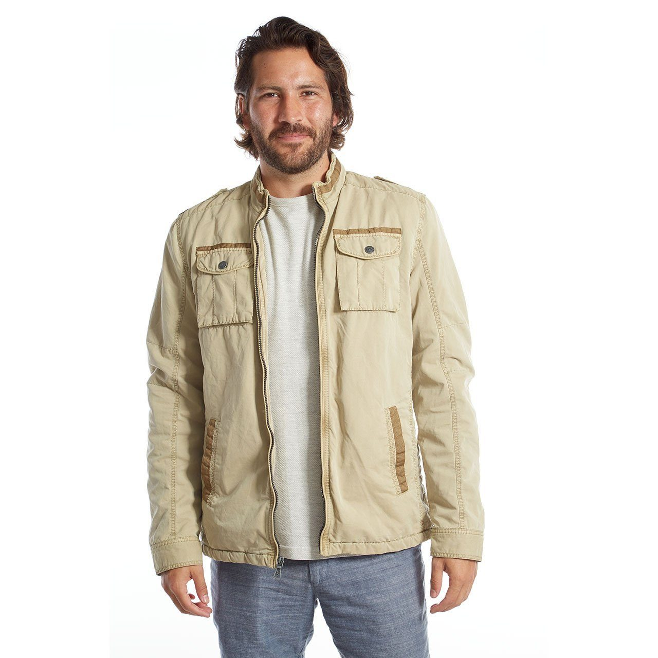 Vegan Leather Jackets - Lee Moto Jacket