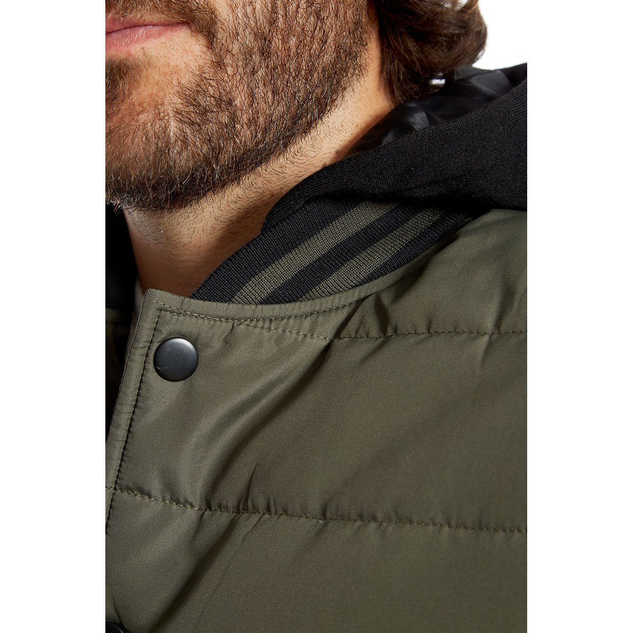 Nylon Jackets - Stanley Quilted Puffer Jacket