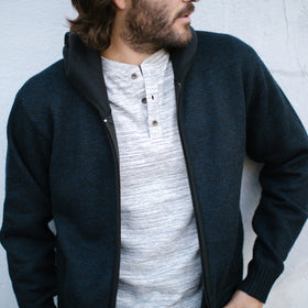 Clyde Zip Up Sweater