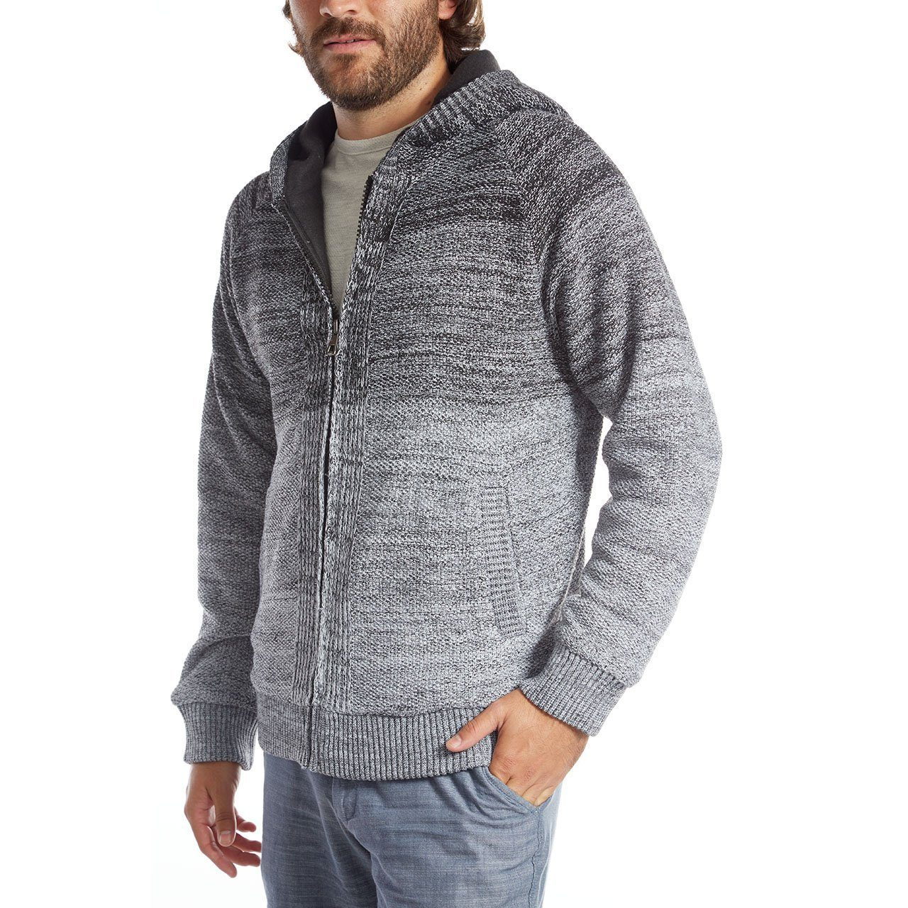 Sweater - Bill Zip Up Hombre Sweater
