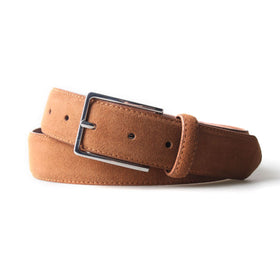 Remy Suede Leather 3.5 CM Belt