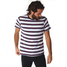 Crew Neck Tees - Mateo Striped Tee