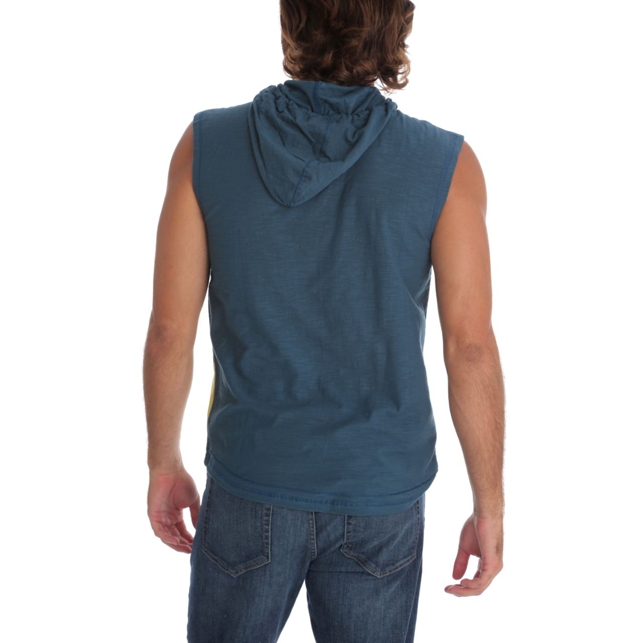 Darren Hooded Muscle Tank