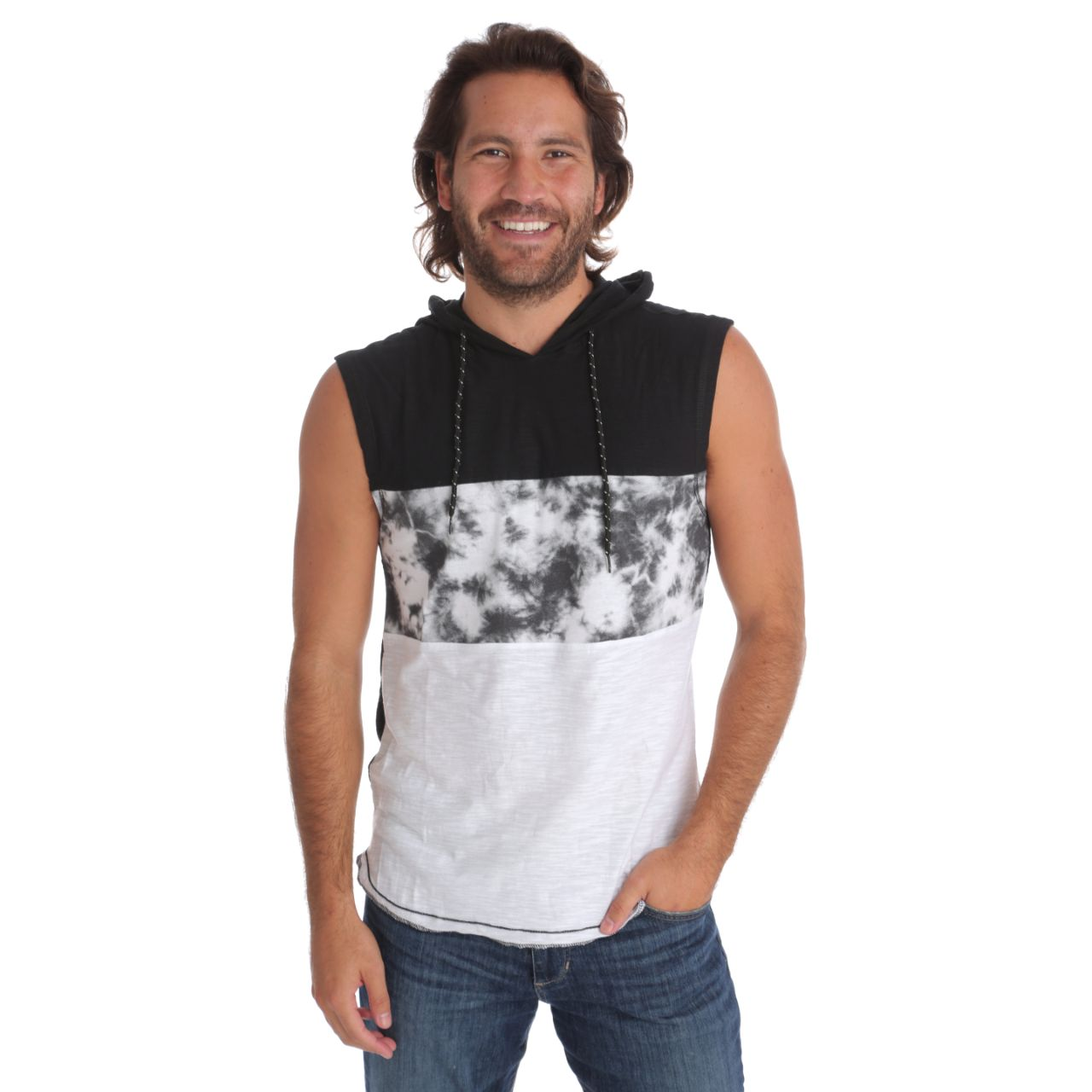 Talan Hooded Muscle Tank