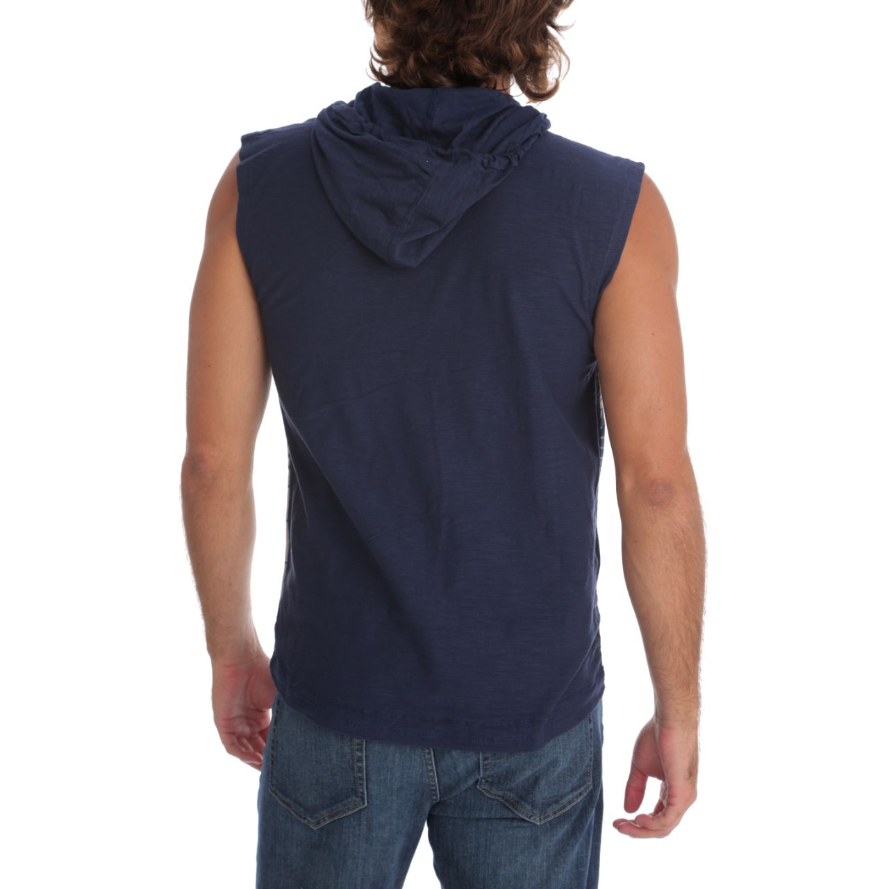Mack Hooded Muscle Tank