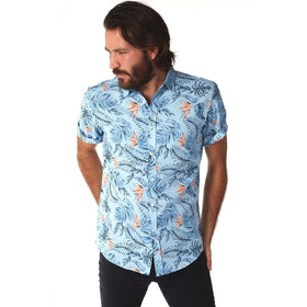Short Sleeve Shirt, Shirt - Garrett Floral Shirt