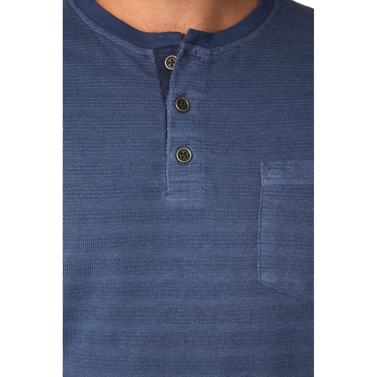 Henley Tees - Axel Striped Henley