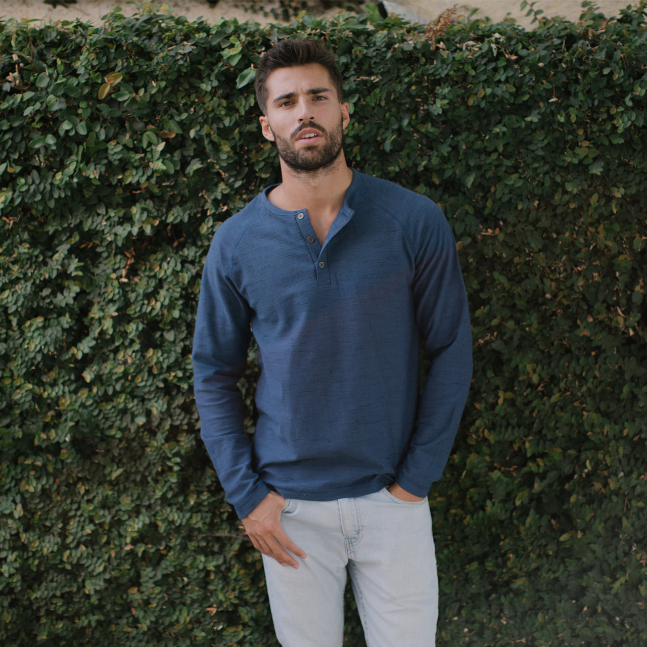Seth Long Sleeve Henley