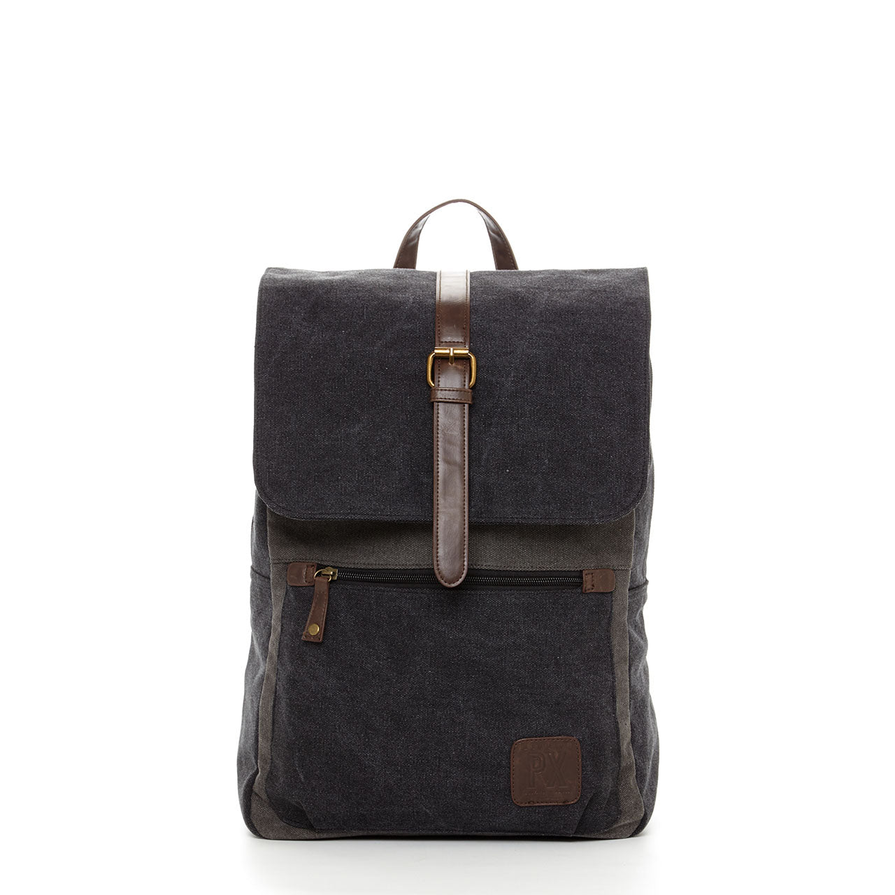 Lincoln Two Tone Canvas Backpack