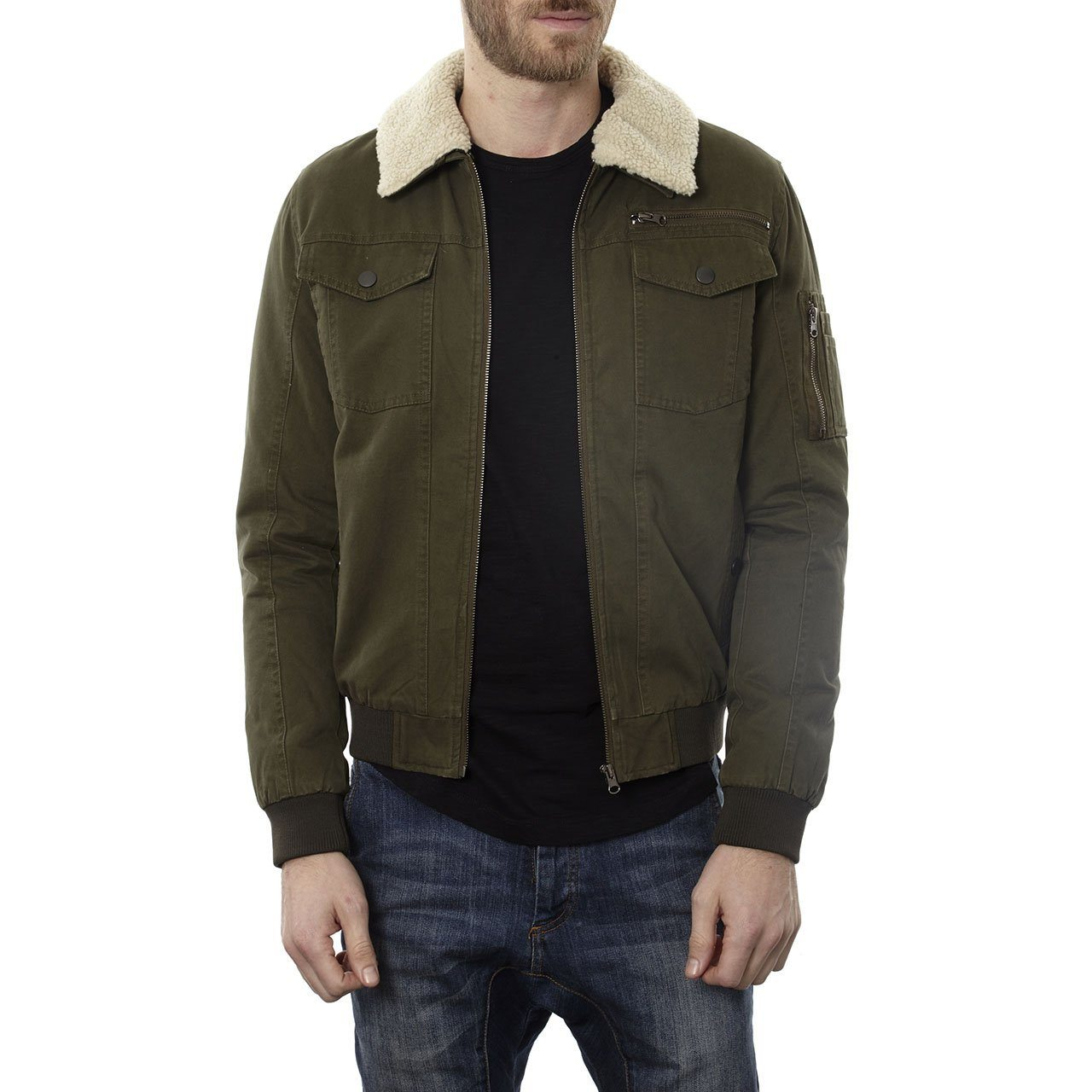 Aviator Jackets - Maverick Cotton Aviator Jacket