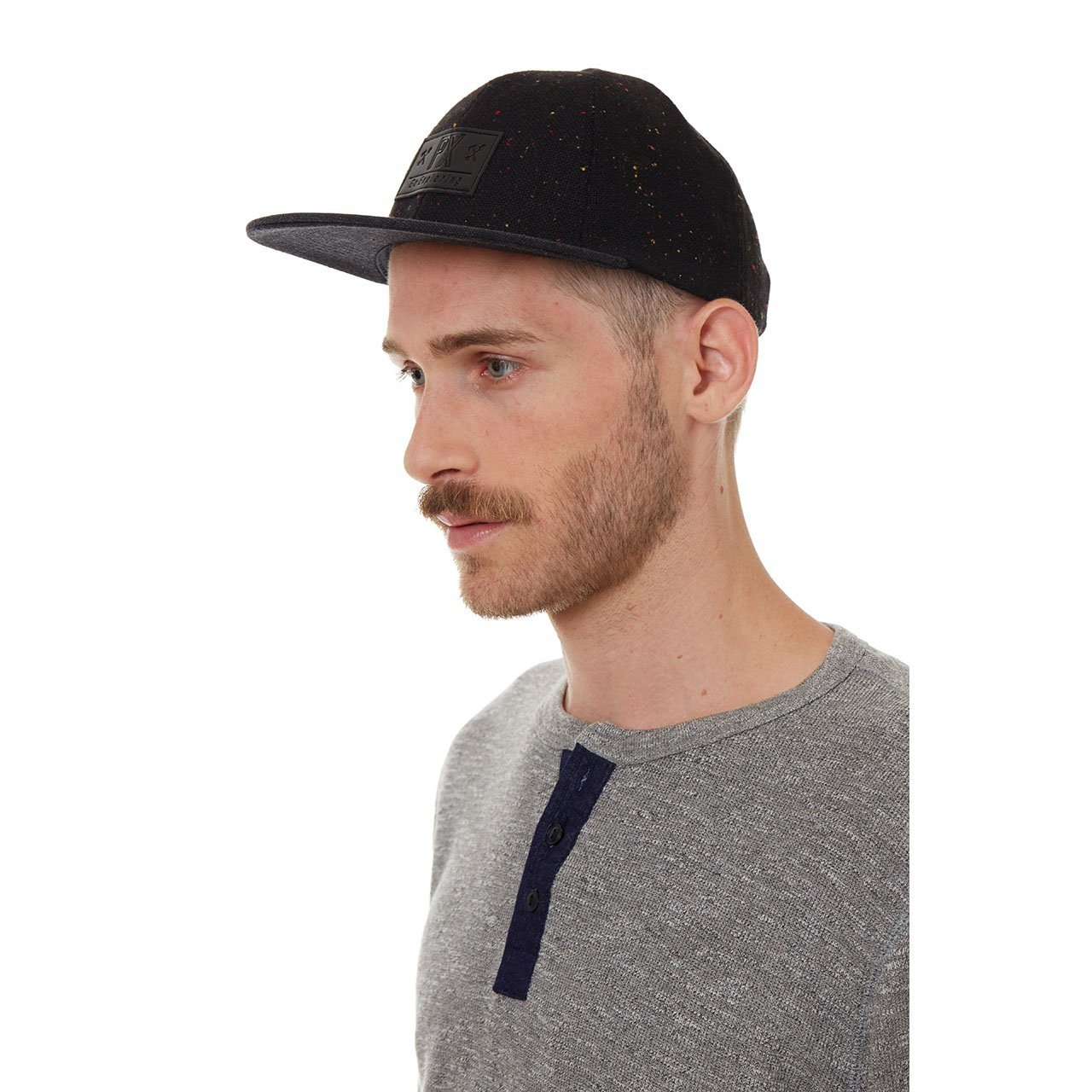 Hats - Travis Flat Brim Speckle Hat