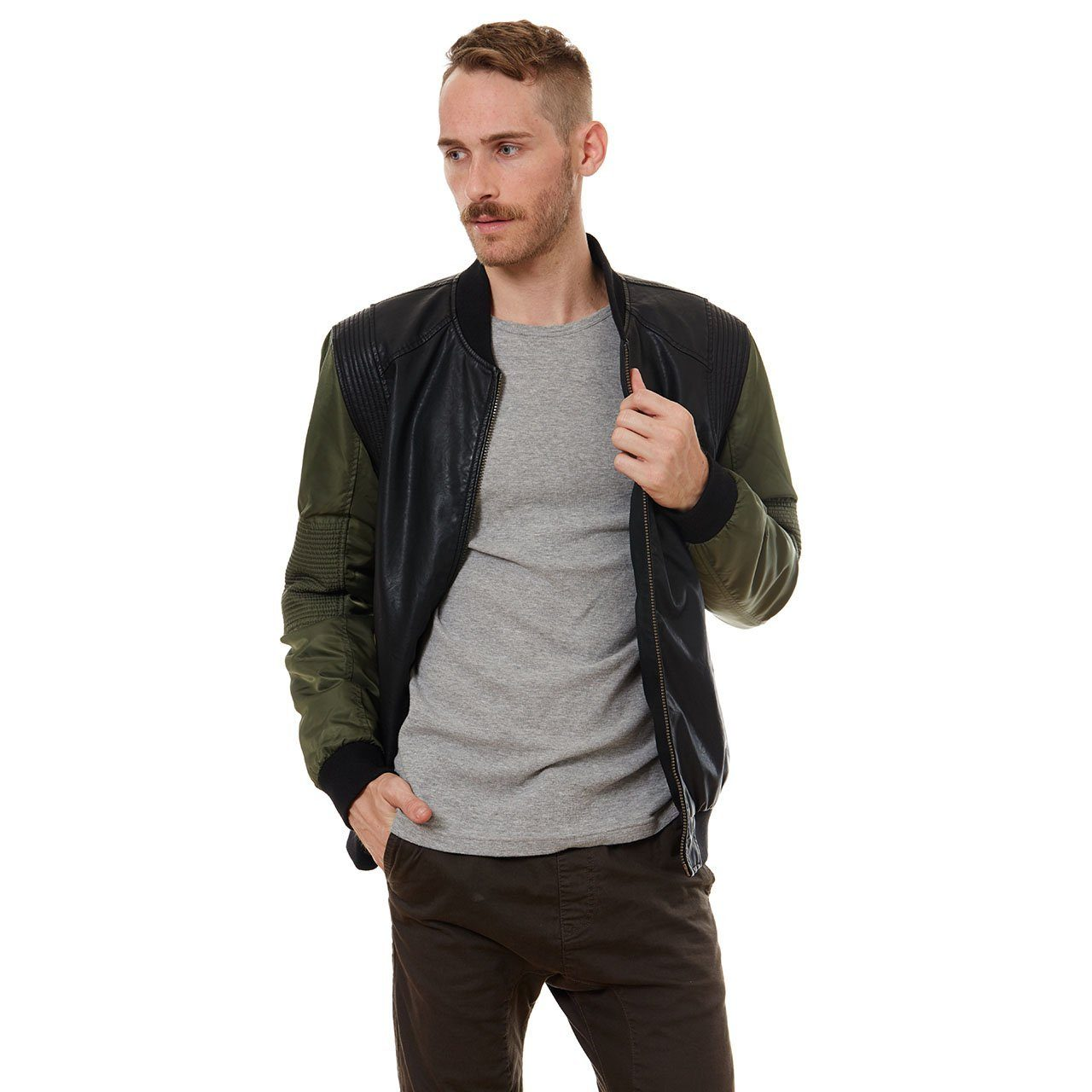 Vegan Leather Jackets - Kenny Vegan Leather Jacket