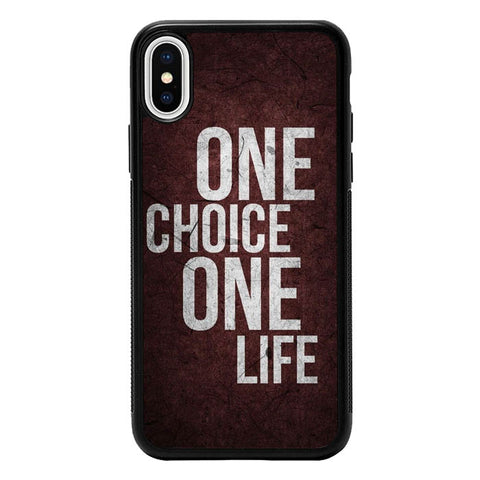 1 Choice 1 Life iPhone X, XS VG0951