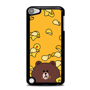 Brown Eat Line L0073 iPod Touch 5 Case