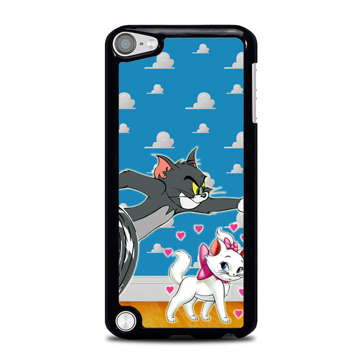 tom and marie cat L0142 iPod Touch 5 Case