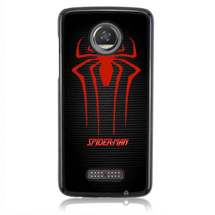 Spiderman Carbon L0263 Moto Z2 Play Case