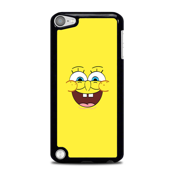 Spongebob Squarepants Face 4 L0270 iPod Touch 5 Case