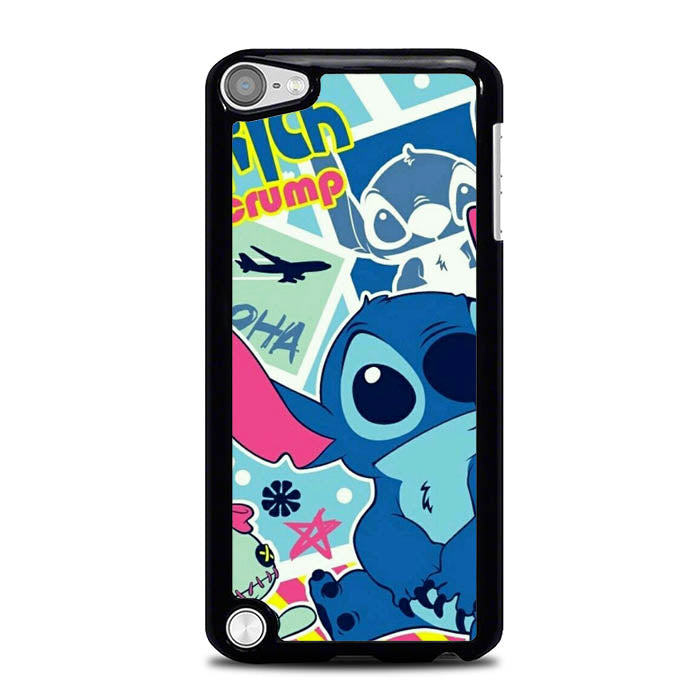 Stitch And Scrump Wallpaper L0274 iPod Touch 5 Case