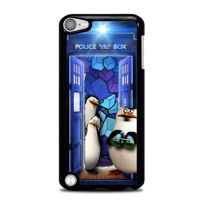 the pinguins of madagascar L0285a iPod Touch 5 Case