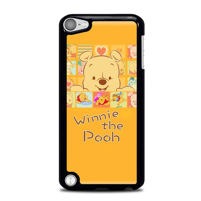 Winnie The Pooh Cartoon L0294 iPod Touch 5 Case