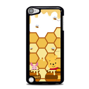 Winnie The Pooh With Piglet Eat Honey L0298 iPod Touch 5 Case