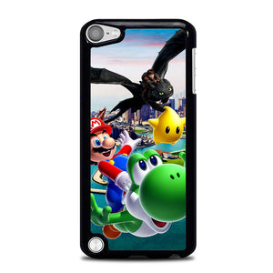 toothless and mario friends L0369a iPod Touch 5 Case