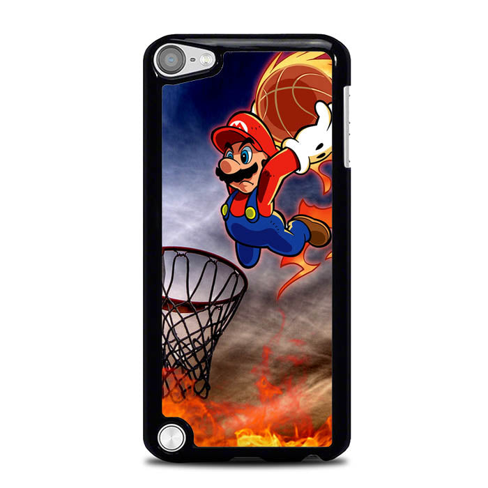 supermario basketball L0370 iPod Touch 5 Case