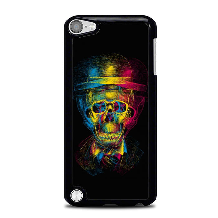 Skull Wallpaper L0431 iPod Touch 5 Case