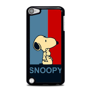 Snoopy Blue Red L0434 iPod Touch 5 Case