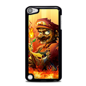 zombie mario fire L0469a iPod Touch 5 Case