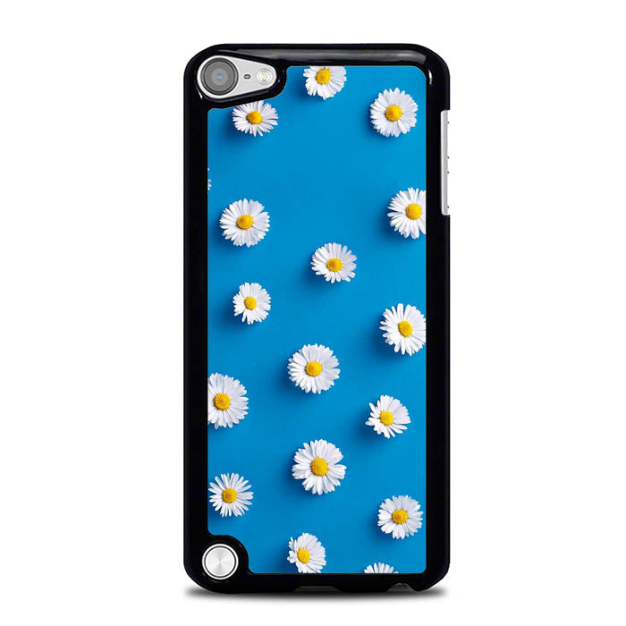 Daisy Blue Background L0494 iPod Touch 5 Case