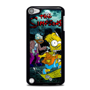 the simpsons zombie L0495 iPod Touch 5 Case