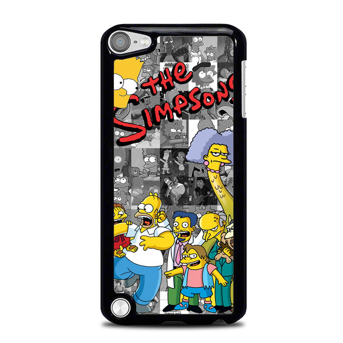 the simpsons character L0497a iPod Touch 5 Case