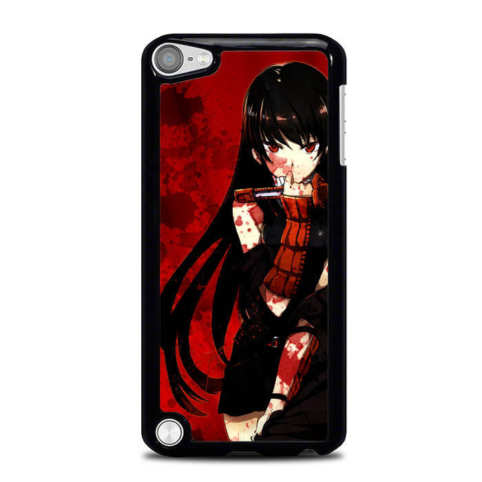 akame ga kill red bloods L0568a iPod Touch 5 Case