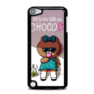 Brown is Little Sis Choco L0605 iPod Touch 5 Case