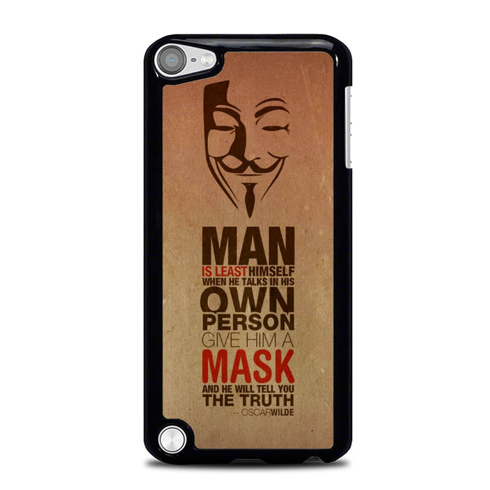 Anonymous Oscar Wilde L0634 iPod Touch 5 Case