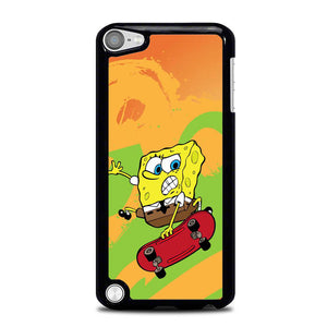 Spongebob Skate Wallpaper L0648 iPod Touch 5 Case