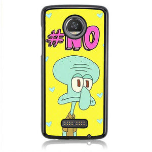 Squidward No Flat Face L0650 Moto Z2 Play Case