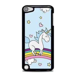 Unicorn Rainbow Wallpaper L0653 iPod Touch 5 Case