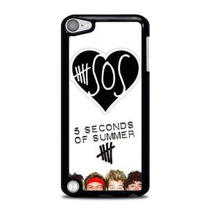 5 seconds of summer logo L0910 iPod Touch 5 Case